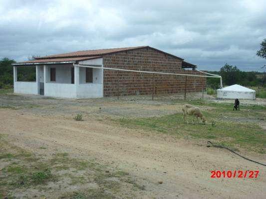 Casa com cisterna