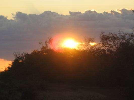 Por do sol na Serra do Rompedor, Pedro II - Piau�