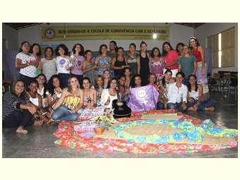 Mulheres da equipe do Irpaa discutem patriarcado em mais um dia de estudo