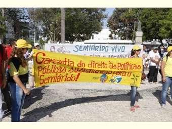 Povos do Semiárido vão a Brasília dar um recado: não aceitam sair do orçamento federal no próximo Plano Plurianual