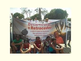 Comitê de Bacia do Rio São Francisco repudia cortes no Programa Cisternas