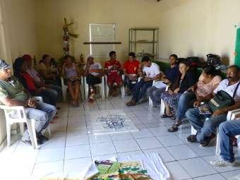 Comunidades Fundo de Pasto de Canudos participam de encontro de lideranças