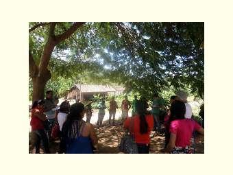 Agricultores e agricultoras de Pilão Arcado visitam experiência de beneficiamento de cana em  Abaíra