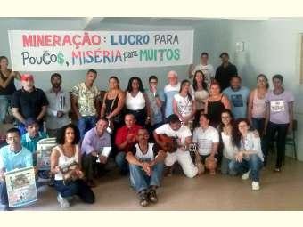 Carta do seminário das Comunidades atingidas pela mineração na região Centro norte Bahia