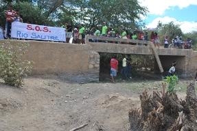 Escolas do Salitre chamam atenção para a degradação do Rio