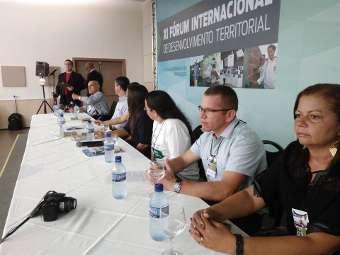 Representantes do Irpaa compartilham experiências no XI Fórum Internacional de Desenvolvimento Territorial
