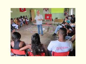 Juventude estuda temas como Transposição do Rio São Francisco em formação organizada pelo MAB