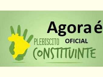 Câmara analisa plebiscito sobre convocação de constituinte para reforma política