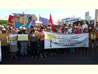Centenas de pessoas de todo o Semiárido vão às ruas de Mossoró-RN para reivindicar direitos