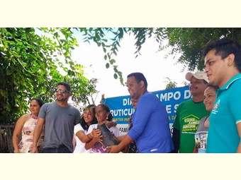 Escola Família Agrícola de Sobradinho inicia entrega das mudas do Projeto Fruticultura de Sequeiro com Jovens do Semiárido