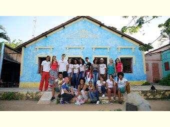 Jovens educomunicadores/as do Vale do Salitre participam de Intercâmbio no Ceará