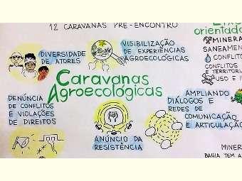 Caravana Agroecológica fortalece luta pelo território no Semiárido baiano