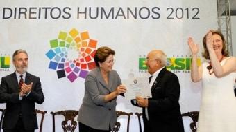 Dom Tomás Balduino e Dom Pedro Casaldáliga recebem homenagem em Brasília