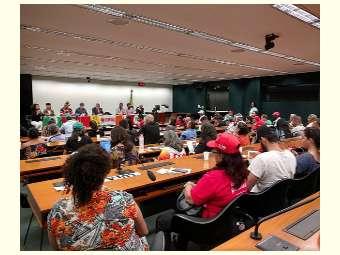 Em Brasília, a Caravana Semiárido Contra a Fome participa de audiência na Câmara