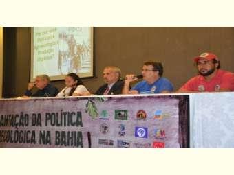 Ato Político reúne agricultores e movimentos sociais pela aprovação da Lei de Agroecologia