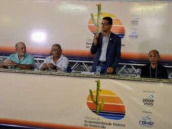 Oficina de Sustentabilidade Hídrica do Semiárido compartilha experiências de Convivência com a região semiárida