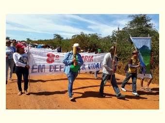 Em defesa da vida, contra a mineração