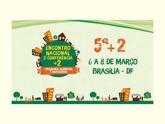 5ª+2 será realizada de 6 a 8 de março em Brasília