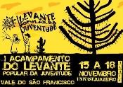Levante Popular da Juventude realiza Acampamento Regional nesta quinta em Juazeiro