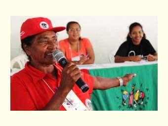 Na Bahia, camponesas debatem violência contra a mulher