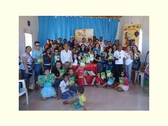 Arcas das Letras vai distribuir livros em  comunidades do Semiárido
