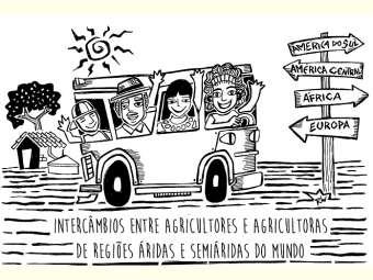 Agricultores/as brasileiros/as resilientes à semiaridez vão ao Senegal trocar conhecimentos com famílias agricultoras