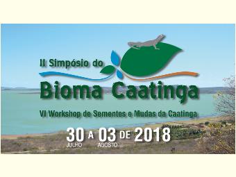 Abertas as inscrições e submissão de trabalhos para o II Simpósio do Bioma Caatinga