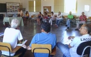 Diretores, sócios/as e colaboradores/as participam da Assembleia Geral  do Irpaa