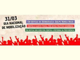 Ato cultural em defesa da democracia e contra o Golpe será realizado em Juazeiro nesta quinta-feira (31)