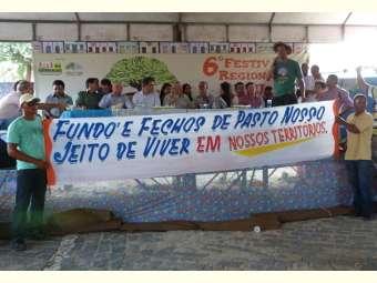 Comunidades tradicionais cobram de governo do estado regularização fundiária durante 6º festival do Umbu