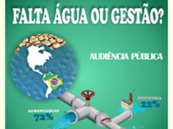 Carta política aprovada durante Audiência Pública sobre Crise Hídrica