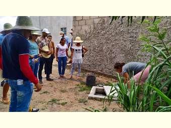 Formação sobre saneamento básico reúne representantes de organizações populares em Juazeiro
