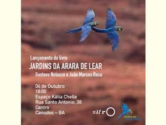 Livro sobre Arara azul de Lear será lançado hoje (4) em Canudos