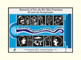 Romaria à Foz celebra 20 anos da peregrinação pelo Rio São Francisco