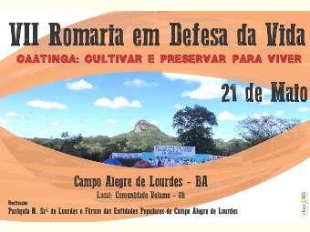 Preservação da Caatinga é tema de VII Romaria em Defesa da Vida