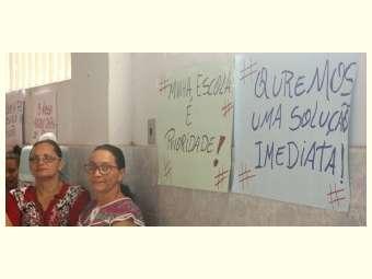Mães e pais resistem ao fechamento de escolas em comunidades rurais em Massaranduba