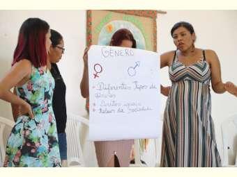 Cirandeiras/os de Uauá debatem relações de gênero a partir de atividades ludicoeducativas