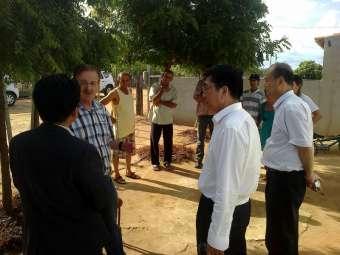 Representantes do Estado de Gansu, na China, visitam experiências de convivência com o Semiárido em Juazeiro e Petrolina