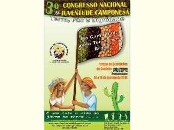 III Congresso Nacional da Juventude Camponesa acontecerá em Recife