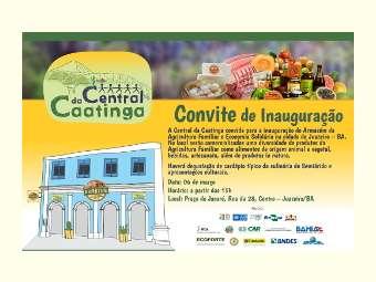 Central da Caatinga inaugura Armazém em Juazeiro