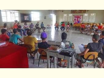 Encontro reúne jovens de comunidades tradicionais de Casa Nova