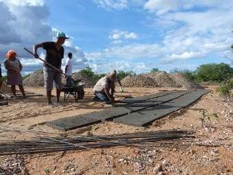Formação de pedreiros de cisternas de produção é iniciada em Chorrochó