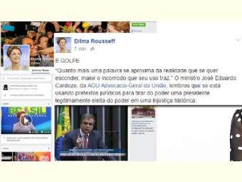 Em seu perfil no Facebook, Dilma diz que decisão do afastamento