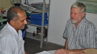 Membro da Aliança Internacional para Captação de Água de Chuva visita a região