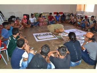 Comunidade de Melancia foi sede de mais um encontro do grupo Jovens da Caatinga