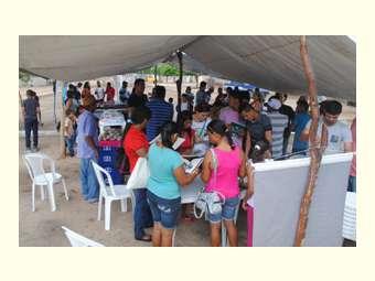 Em Pilão Arcado, comunidade de Carnaúba celebra a união na Feira da Agricultura Familiar