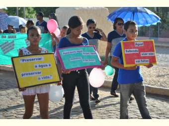 Intervenções artísticas, palestras e caminhada fazem parte da programação da Semana da Água em Curaçá