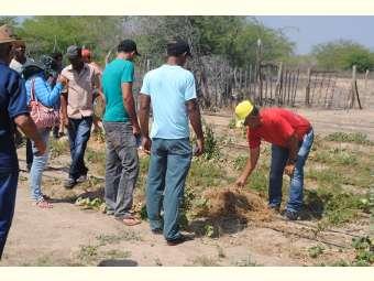 Agricultores/as da região do Araripe visitam o sertão do São Francisco