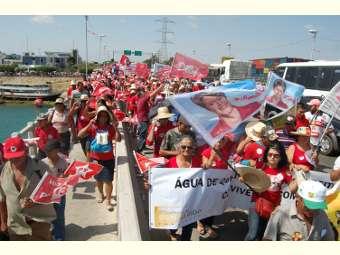 Apoio à reeleição de Dilma Rousseff e reivindicações marcam Ato Público em defesa do Semiárido