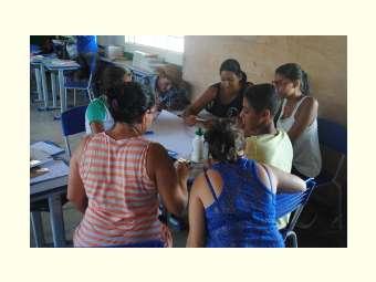 Gestão de água da escola é tema de oficina na Escola Rural de Massaroca